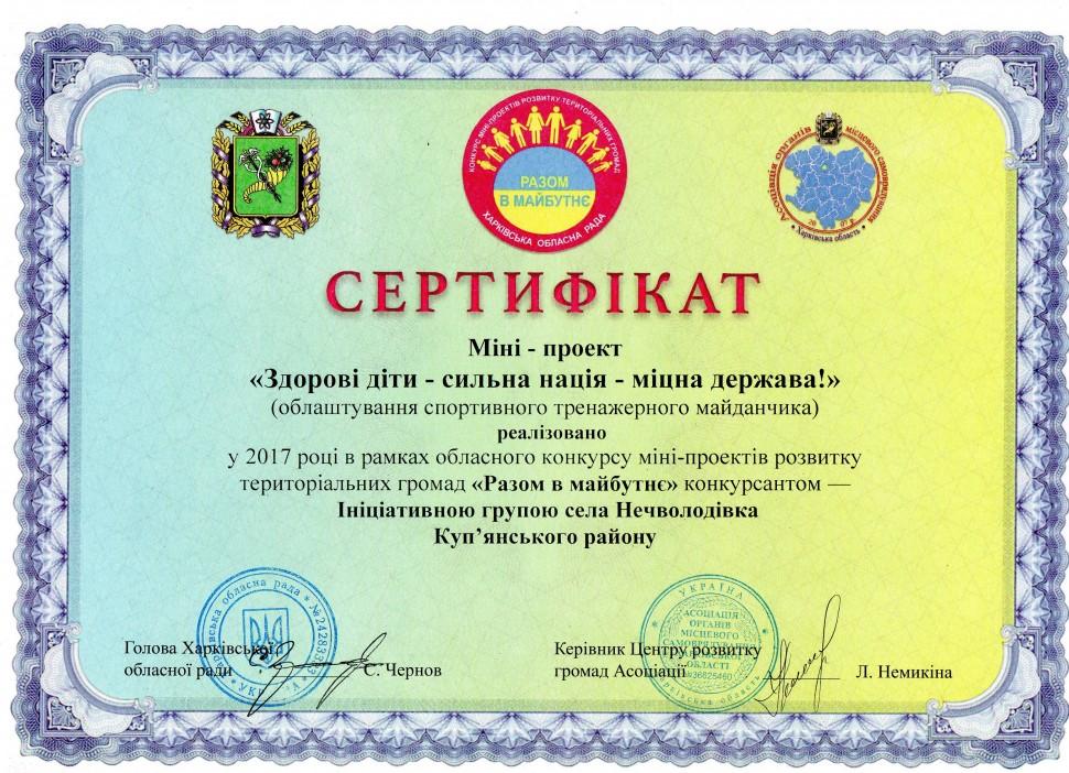 Альбом: У Нечволодівці завершено реалізацію обласного конкурсу розвитку територіальних громад «Разом в майбутнє».